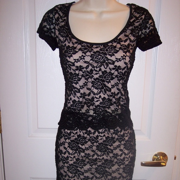 a3a2c83cff6 Rue 21 ~black Rose lace 2 pc skirt and shirt set~. NWT. Rue21.  19  65. Size.  XS